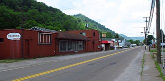 Chesapeake, West Virginia - Maccorkle Avenue in Chesapeake