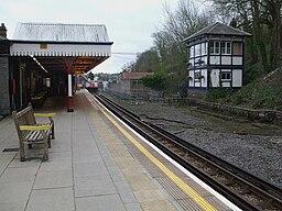 Chesham station look north2