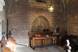 Chester Castle - The Norman chapel