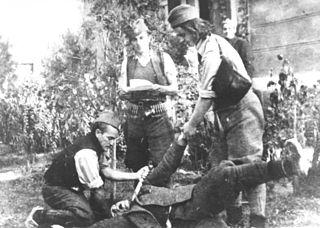 Chetnik war crimes in World War II