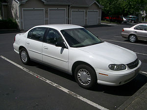 Chevrolet Classic - A Chevrolet Classic rental car based on the Chevrolet Malibu