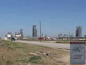 Phillips Petroleum Company - Site of Phillips explosions of 1989, 1999 and 2000 (as photographed in 2008).