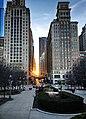 Chicago Sunset (32530898867).jpg