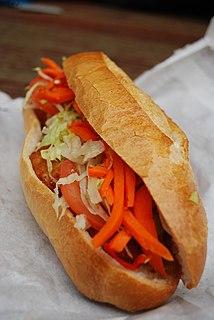 Bánh mì Vietnamese bread or sandwich