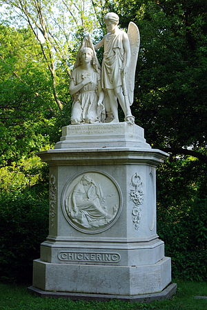 Chickering & Sons - Image: Chickering Monument