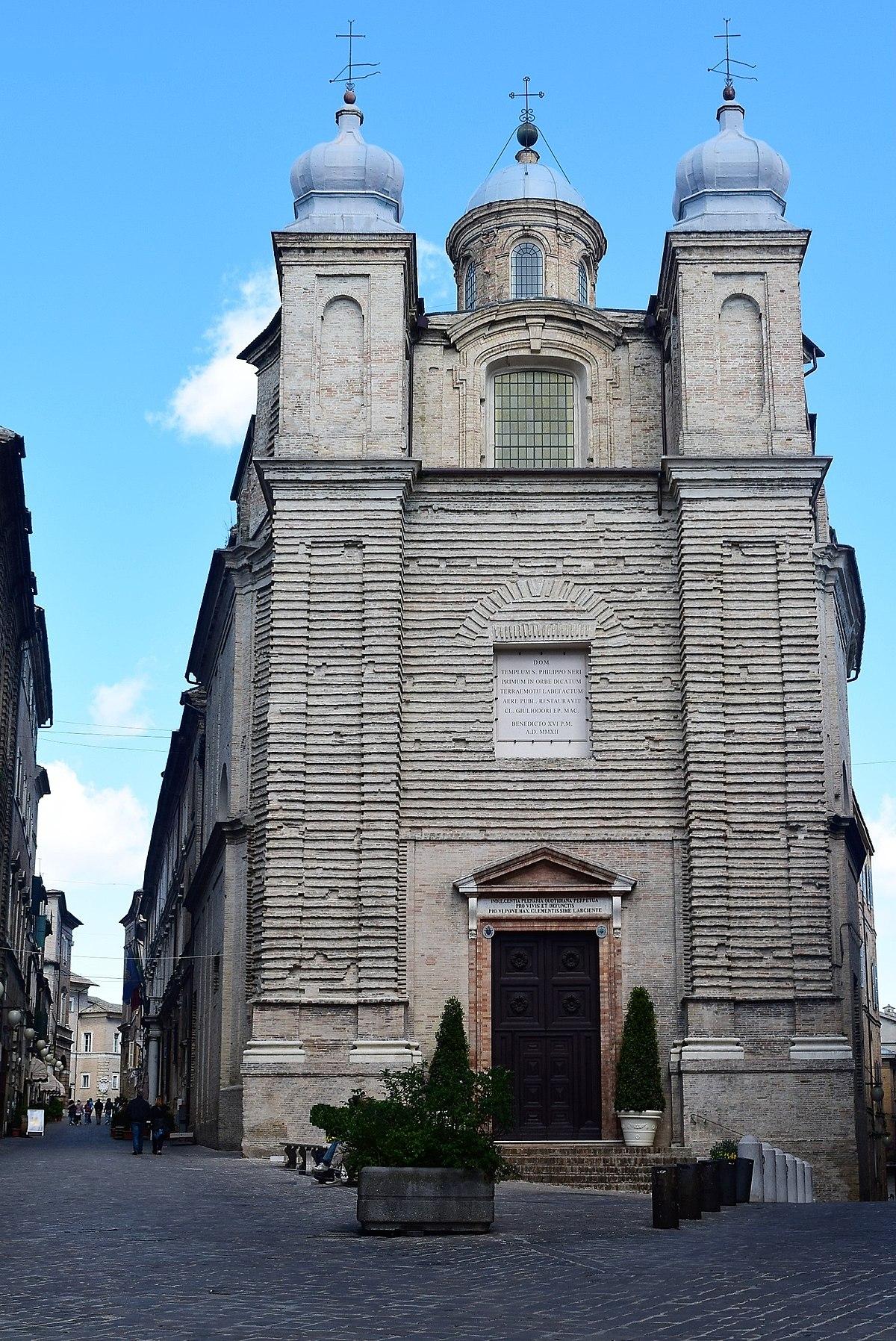 San Filippo Neri Macerata Wikidata