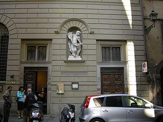 St Mark's English Church, Florence - St Mark's English Church, exterior