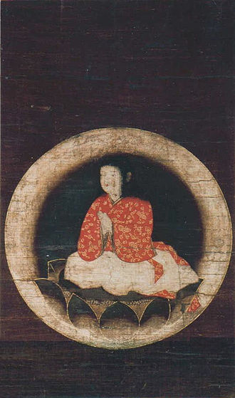 Kūkai - Painting of Kūkai as a child