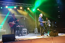 China Crisis performing live at Benidorm, Spain.jpg