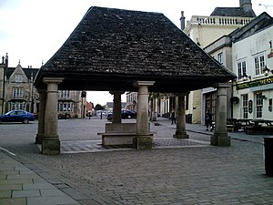Chippenham - The Buttercross today