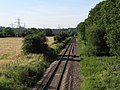 Chippenham to Trowbridge branch line at Melksham - geograph.org.uk - 200231.jpg