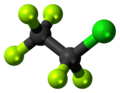Chloropentafluoroethane 3D ball.png