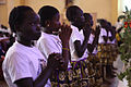 Choir at southern Sudan referendum mass.jpg