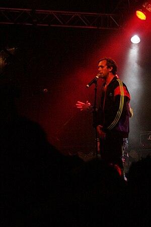 Chords (musician) - Chords on Malmöfestivalen in 2008