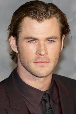 Chris Hemsworth i oktober 2013.