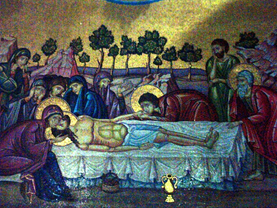 Christ after death,photo Jerusalam