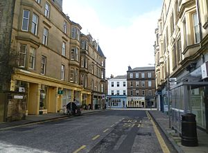 Church Hill, Edinburgh - Church Hill looking towards Morningside Road