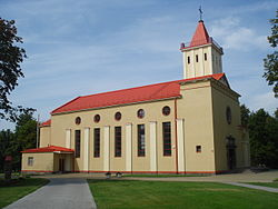 Church of Our Lady Queen of Peace in Naujoji Vilnia 1.jpg
