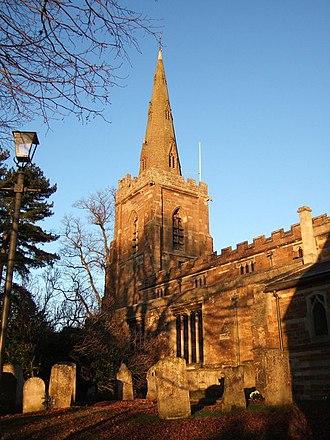 Uppingham - Parish church of St Peter and St Paul