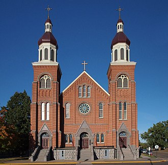 Melrose, Minnesota - The Church of St. Mary, (formerly St. Boniface Church) in Melrose