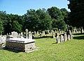 Churchyard, All Saints Church, Dibden - geograph.org.uk - 868149.jpg