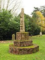 Churchyard cross, Heathfield - geograph.org.uk - 1593381.jpg