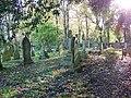 Churchyard in autumn, Over Wallop - geograph.org.uk - 1044883.jpg