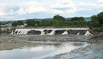 Montmagny, Quebec - Chutes de la Rivière du Sud