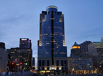 E. W. Scripps Company - The E. W. Scripps Company is headquartered in the Scripps Center in downtown Cincinnati.