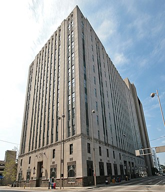 Cincinnati Bell - The Cincinnati and Suburban Telephone Company Building is a registered historic building.