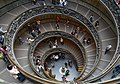 Circular staircase of the Vatican Museums.jpg