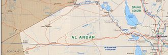 Al Anbar Governorate - The main cities of Al Anbar