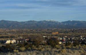 Española, New Mexico - Skyline view from the city's Industrial Park