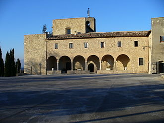 Civitella del Tronto - Sanctuary of Santa Maria dei Lumi.