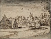 Claes Jansz. Visscher (II) - Jan Deyman's Country House and Orchard - WGA25141.jpg
