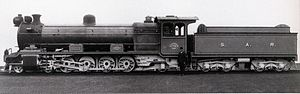 South African Class 14 4-8-2 - Image: Class 14 no. 1701