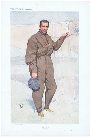 Claude Grahame-White - Claudie, Vanity Fair, 1911