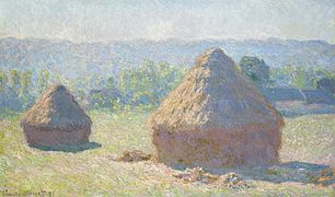 Claude Monet - Haystacks, end of Summer - Google Art Project.jpg