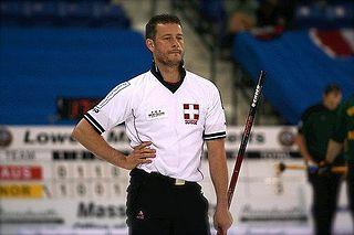 Claudio Pescia Swiss curler