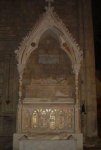Clemente IV lapide.JPG