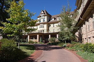 Cliff House (Manitou Springs, Colorado) - Image: Cliff House, Manitou Springs, CO