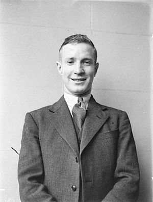 Clive Selwyn Davis - Clive Davis, photographed after obtaining the state's second best Leaving Certificate pass (top in mathematics, second in physics) in 1934. (Used with the courtesy of the Sam Hood Collection, Mitchell Library, State Library of New South Wales). Published in Cohen, Graeme. (2006). Counting in Australia. Halstead Press, Broadway, NSW.