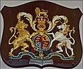 Coat of Arms from Royal Yacht Britannia (from a previous Royal Yacht) (6287149332).jpg