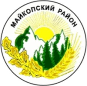 Maykopsky District - Image: Coat of arms of Maikopski District, Adygea