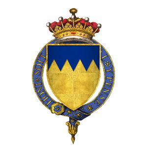 Thomas Boleyn, 1st Earl of Wiltshire - Arms of Sir Thomas Boleyn, 1st Earl of Wiltshire and Ormond, KG