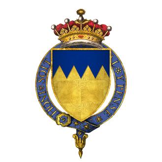 Thomas Boleyn, 1st Earl of Wiltshire - Arms of Sir Thomas Boleyn, 1st Earl of Wiltshire and Ormond, KG