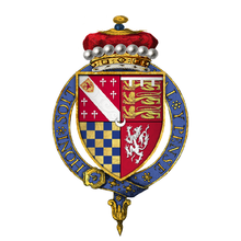 Coat of arms of Sir Thomas Howard, 1st Viscount Andover, KG.png