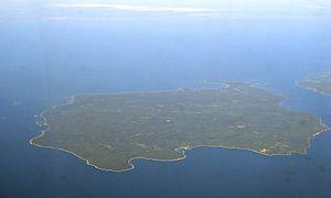 Cockburn Island (Ontario) - Aerial view of Cockburn Island