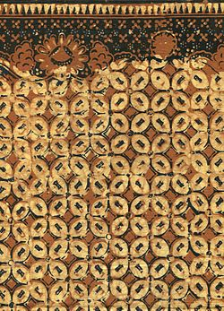 Coffee Bean Batik sarong, Indonesia.jpg