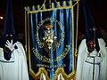Cofradía de la Oración de Nuestro Señor en el Huerto de los Olivos y María Santísima de la Amargura, Granada, Semana Santa 2009 (17).JPG